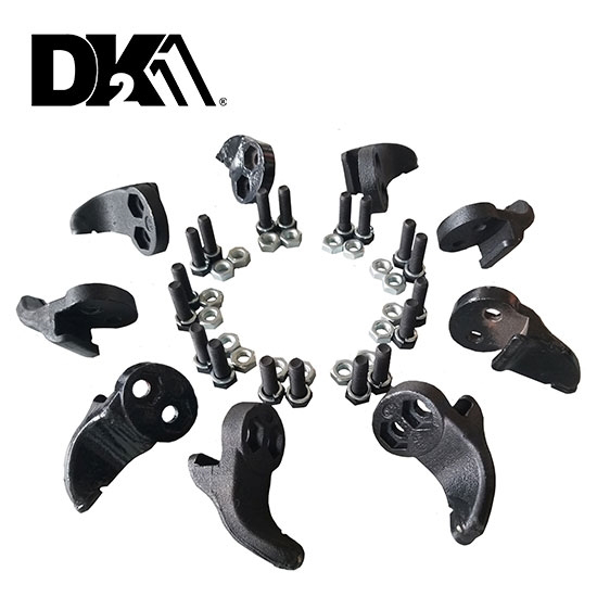 DK2 TEETH SET WITH HARDWARE